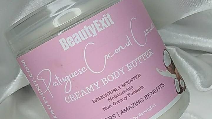 Portuguese Coconut Cream Body Butter