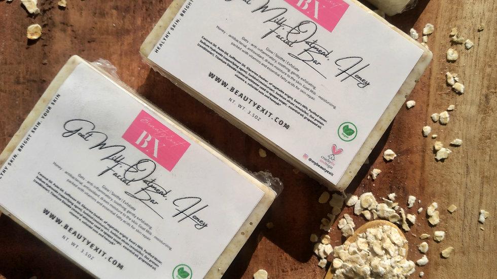 Goat Milk, Oats & Honey Facial Bar