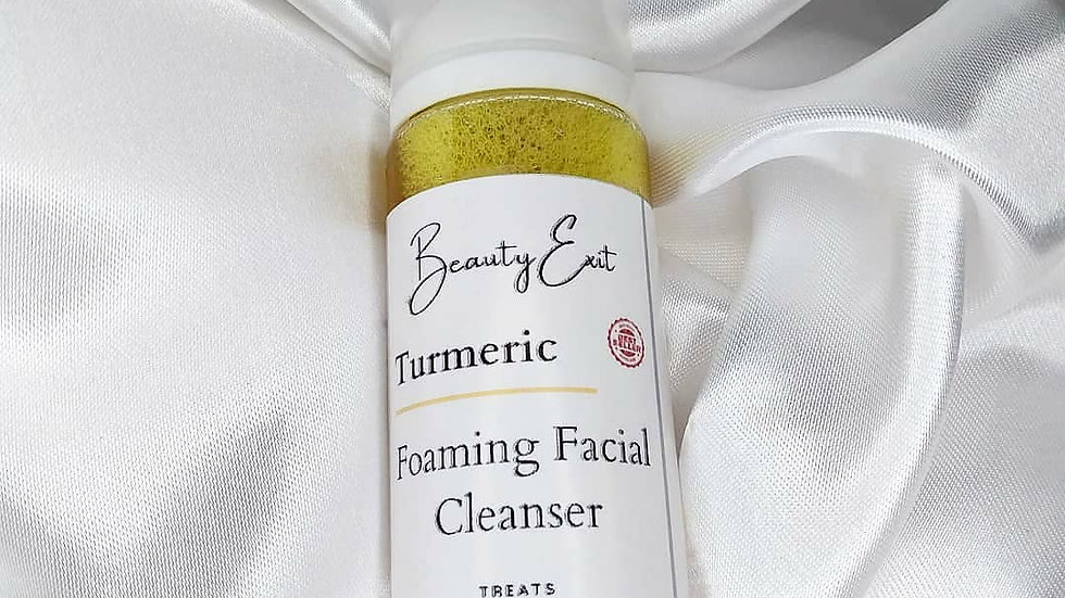 Turmeric Foaming Facial Cleanser