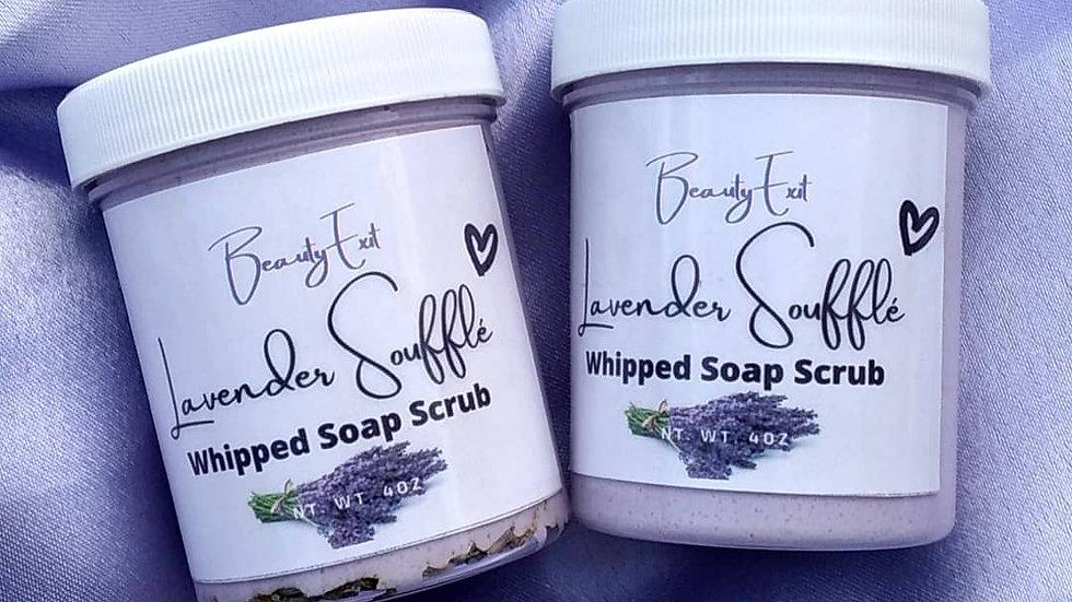 Lavender Souffle Whipped  Soap Scrub
