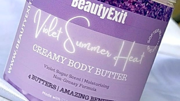 Violet Summer Heat Body Butter