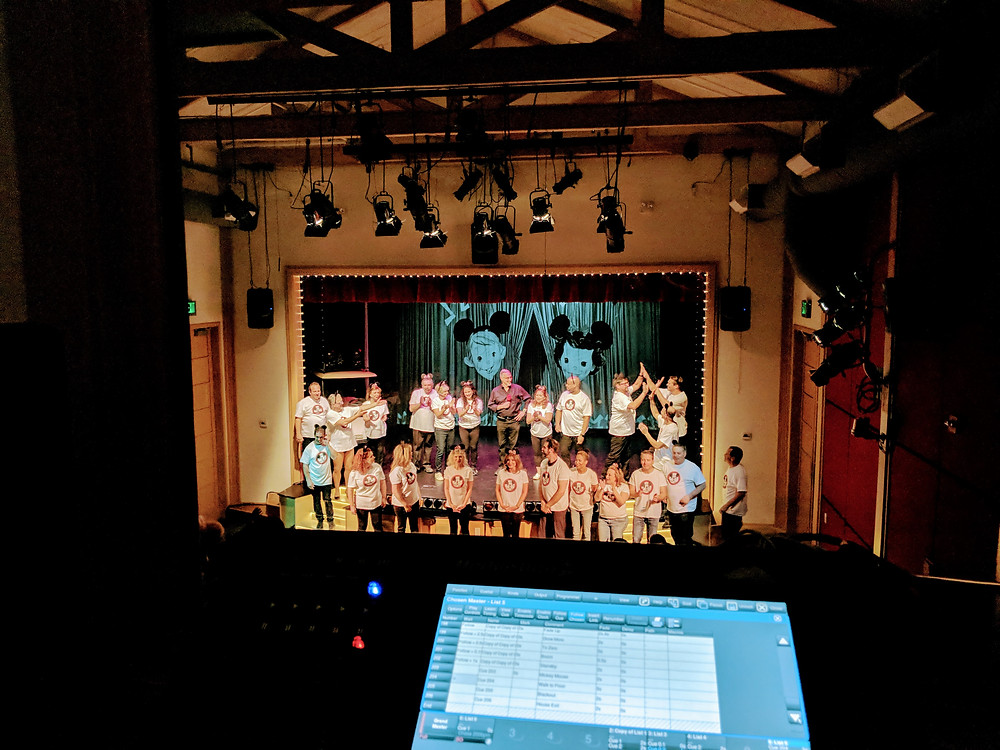 Elysian Audio production for theater in Hidden Hills