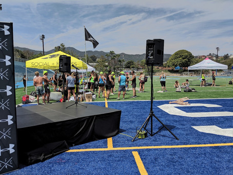 Outdoor Sports Event, Pacific Palisades, CA