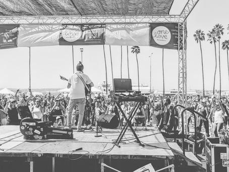 Concert, Waterfront Park, San Diego