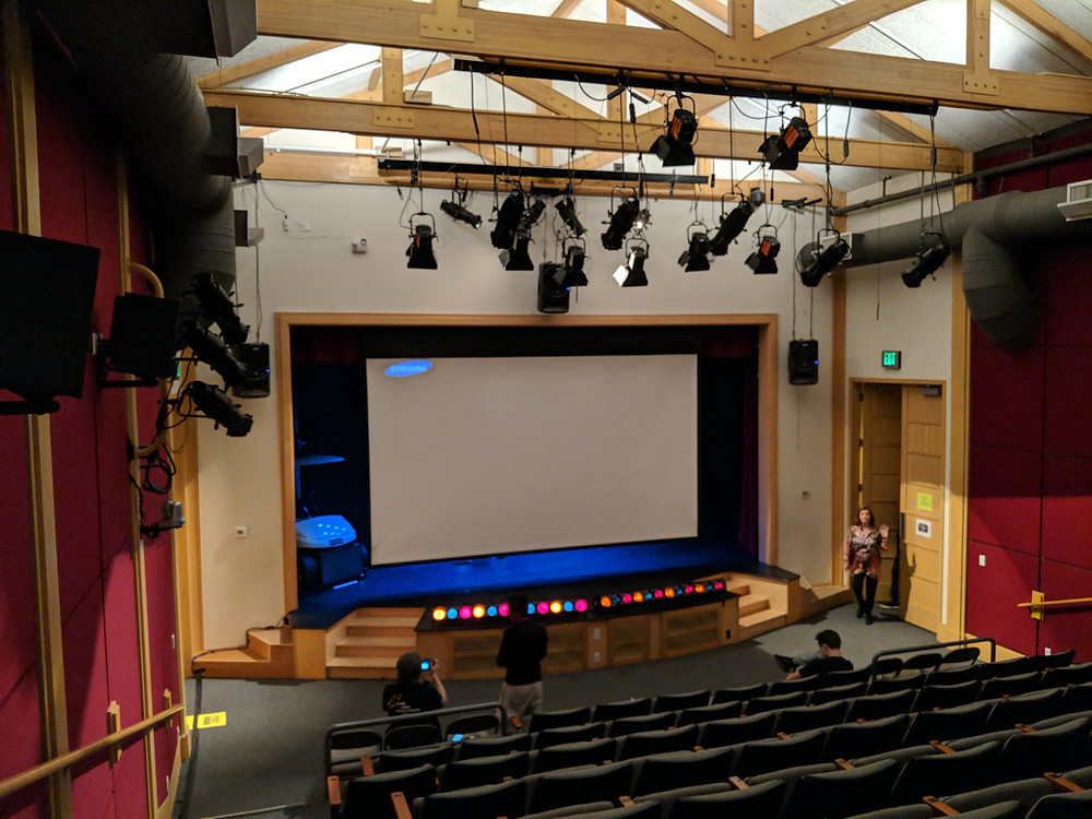 AV for live theater production, Los Angeles