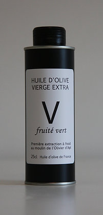 Huile d'olive vierge extra V 25 cl