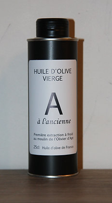 Huile d'olive vierge A 25 cl