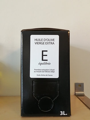 Huile d'olive vierge extra E 3 L BIB
