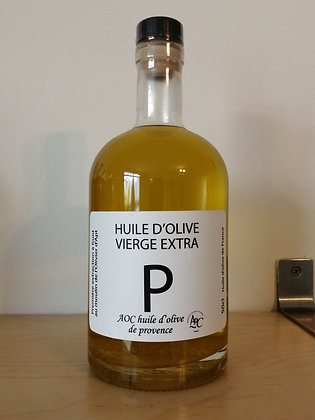 Huile d'olive vierge extra AOP Provence 50 cl