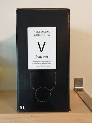 Huile d'olive vierge extra V 5 L