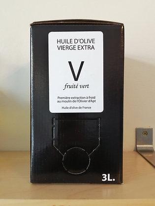 Huile d'olive vierge extra V 3 L