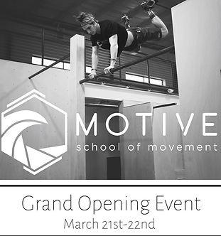 Grand Opening Motive School