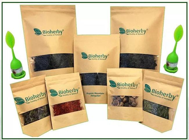 Jiaogulan Tee, Reishi Ganoderma, Long-Ying, Grüner Tee,Bio, Tees von Bioherby Garantiert höchste qualität und Reinheit Bioherby Jiaogulan undTee ausBio Farm.