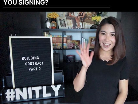 WHAT TO LOOK FOR WITH BUILDING CONTRACT