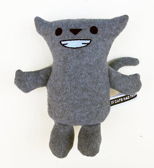 """Stuffie - Grey (""""Charlie"""")"""