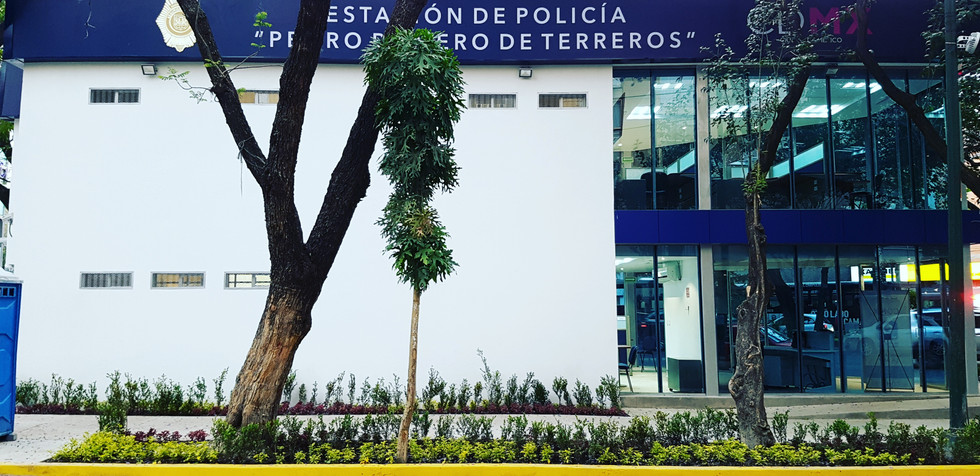 """Estación de Policia """"Pedro Romero de Terreros"""""""