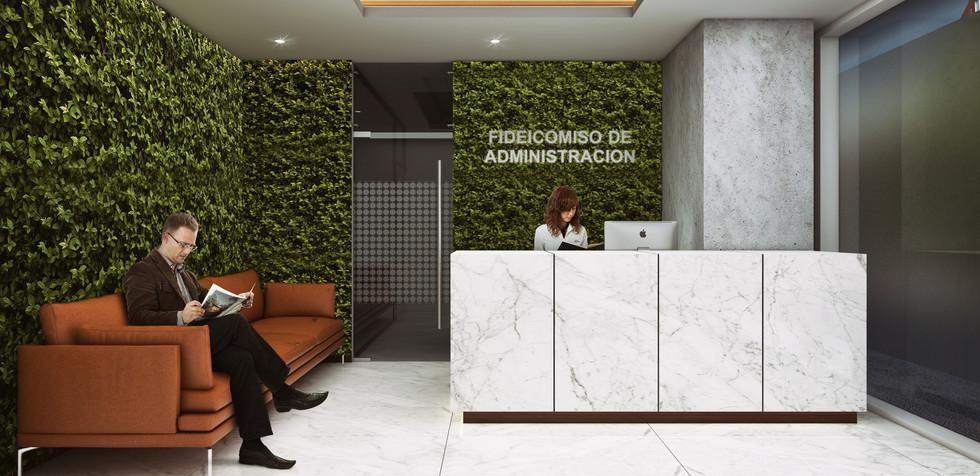 Oficinas del Fideicomiso de Administracion Dependencia Gubernamental