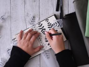 Chemilla: il nuovo disegno stampato a mano su tessuto
