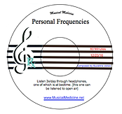 Personal Frequency CD label