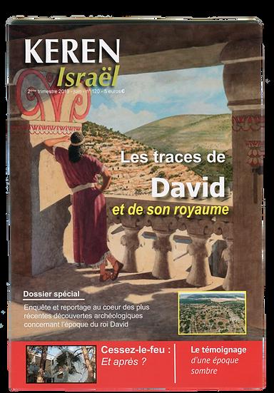 Keren n°120 : Les traces de David et de son royaume