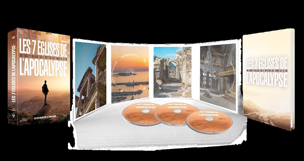 """COFFRET DVD """"LES 7 EGLISES DE L'APOCALYPSE"""""""