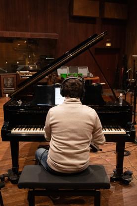 Ayad Khalifé en enregistrement
