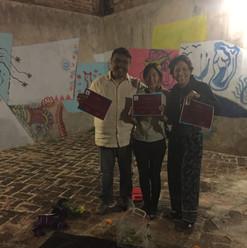 Efímero Infinito con Gustavo Álvarez, Magda Rivera y Miri Hamada