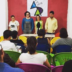 Presentación de la gaceta del Circuito Independiente de Arte