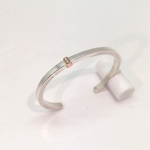 Bracelet Jonc avec diamants