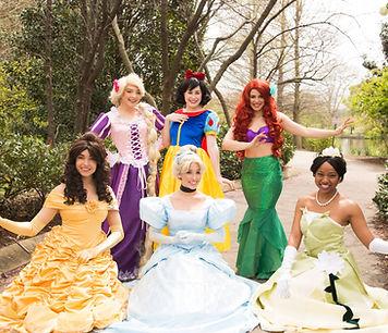 Rapunzel, Snow White, Ariel, Belle, Cinderella, Tiana princess look alike Nashville