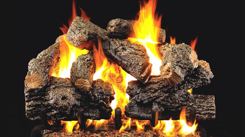 "Real Frye Charred Royal English Oak 18"" with G45 burner"