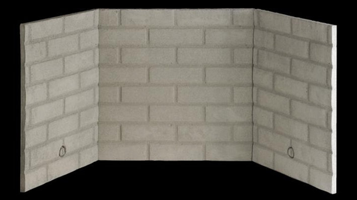 Thermax Vermiculite Refractory Panel (installation is not included)