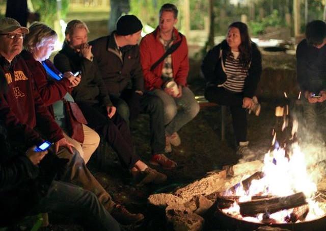 2015 bonfire - s'mores were yummy!