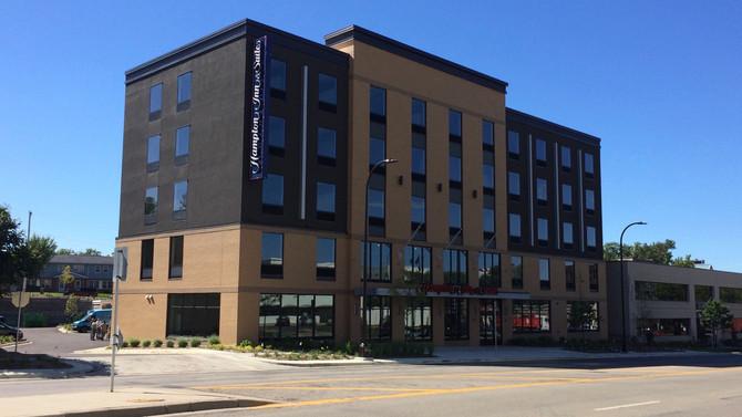 Hampton Inn - Open for Business!
