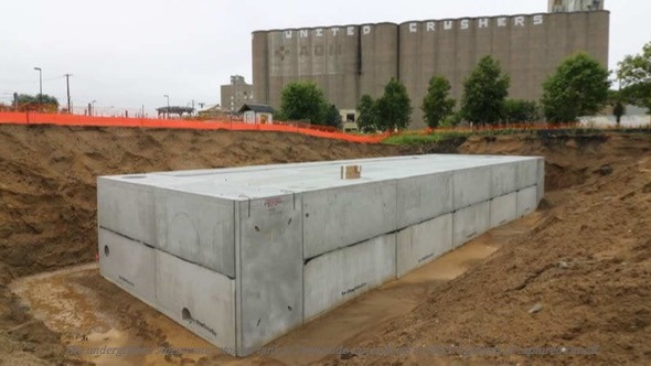 Stormwater - Everything you need to know about the Towerside District System