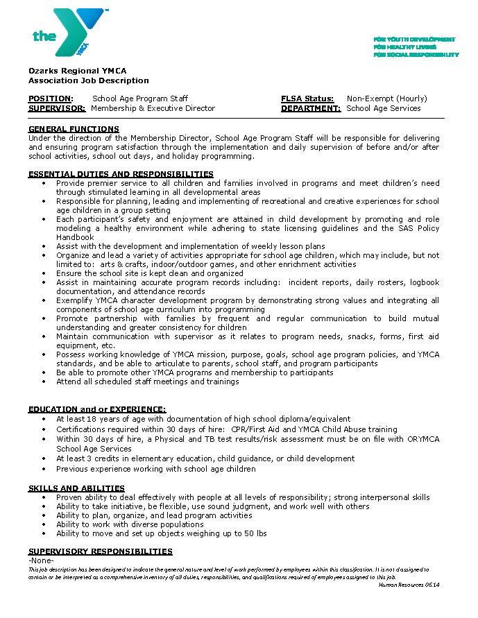 School_Age_Program_Staff_Job_Description