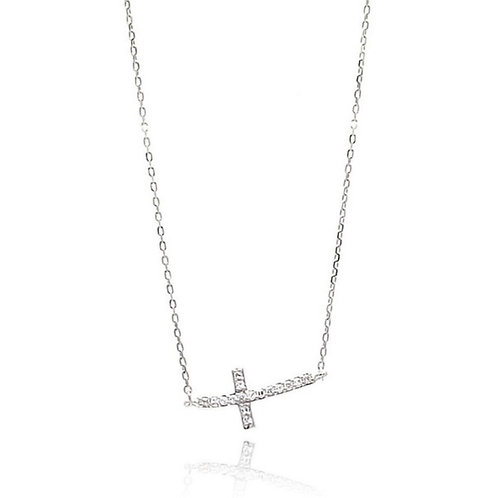 Sterling Small East to West Cross