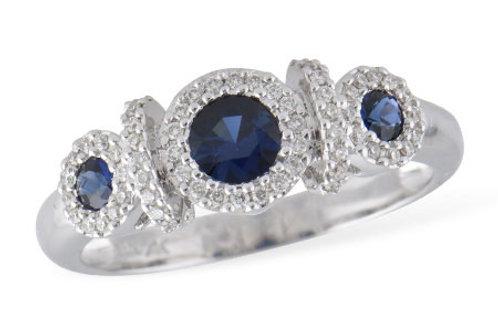 Allison Kaufman Sapphire Ring