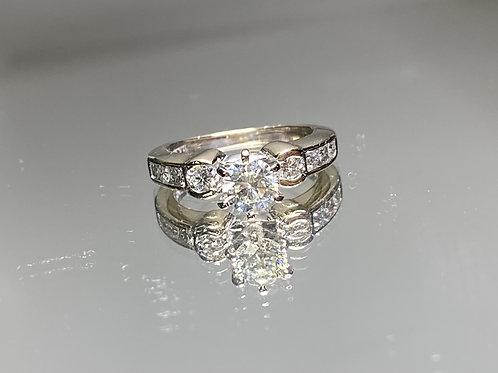 YG Diamond Engagement Ring