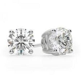 Lab Grown Diamond Studs .50ct