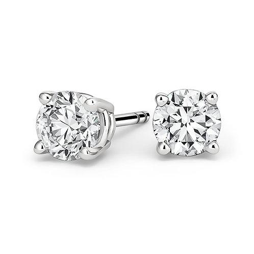 Clements Jewelers Diamond Stud Earrings