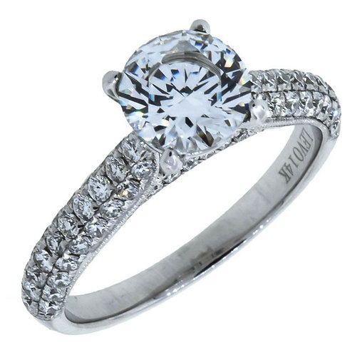 APEX  Diamond Accent Solitaire Engagement Ring