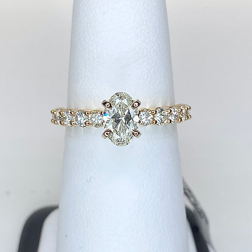 APEX Oval Diamond Engagement Ring