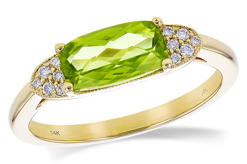 Allison Kaufman Peridot Ring