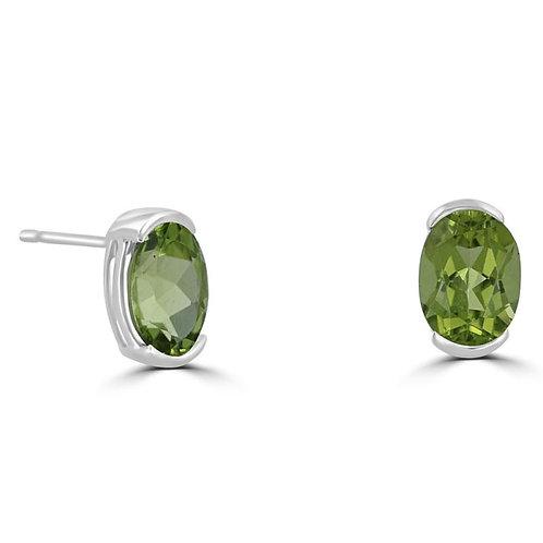 EMPIRE Peridot Earrings