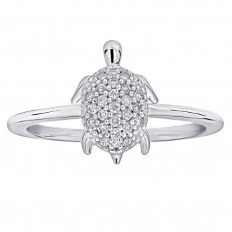 SHEFI Diamond Turtle Ring