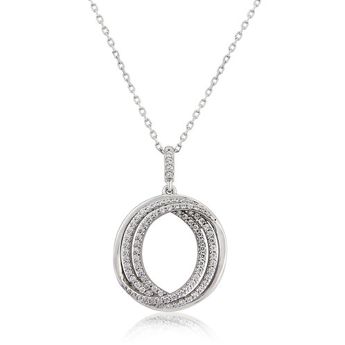 Waterford Swirl Necklace