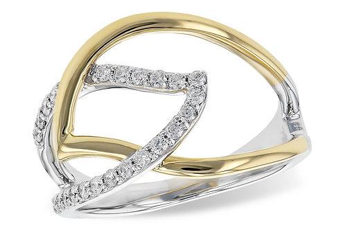 Allison Kaufman Diamond Leaf Ring