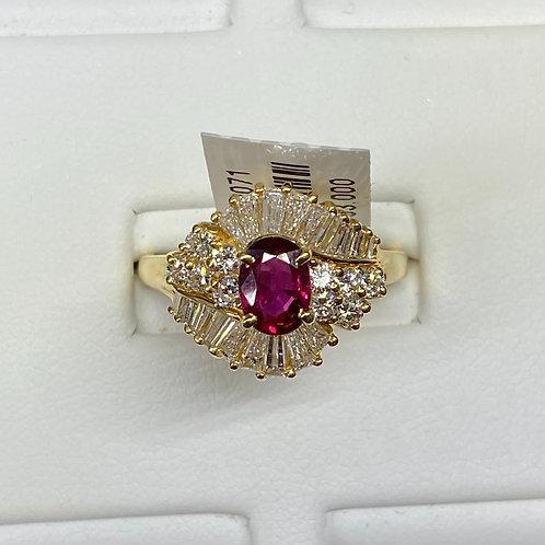 Apex Ruby Ring