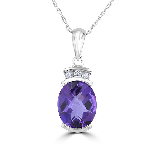 Empire Collection Amethyst Pendant